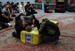 مراسم تشییع پیکر شهید مدافع حرم محسن خاوری